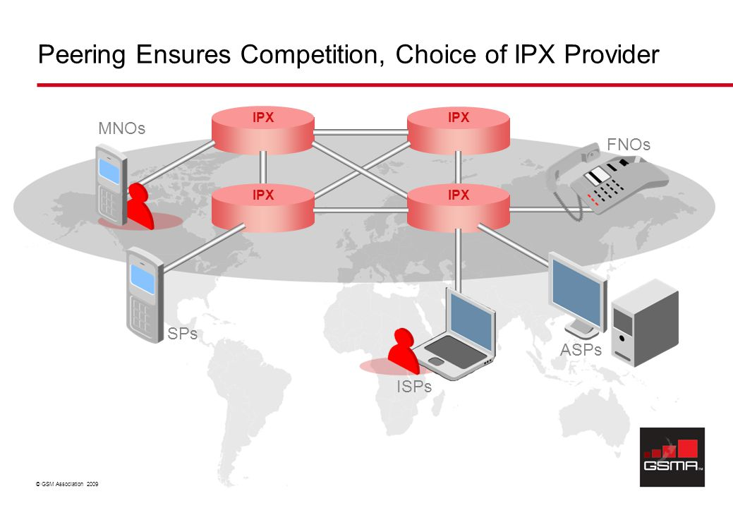 Peering Ensures Competition, Choice of IPX Provider