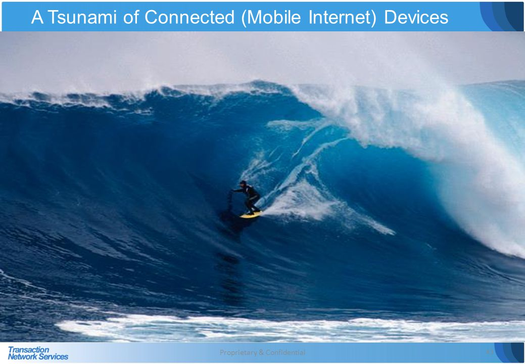 A Tsunami of Connected (Mobile Internet) Devices