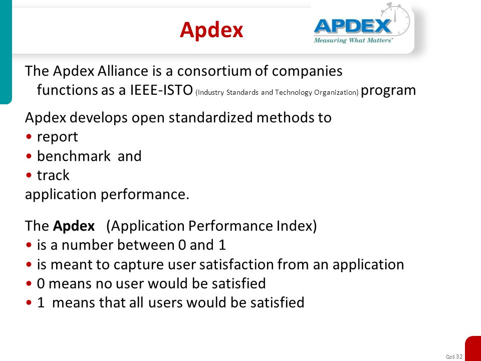 Apdex The Apdex Alliance is a consortium of companies