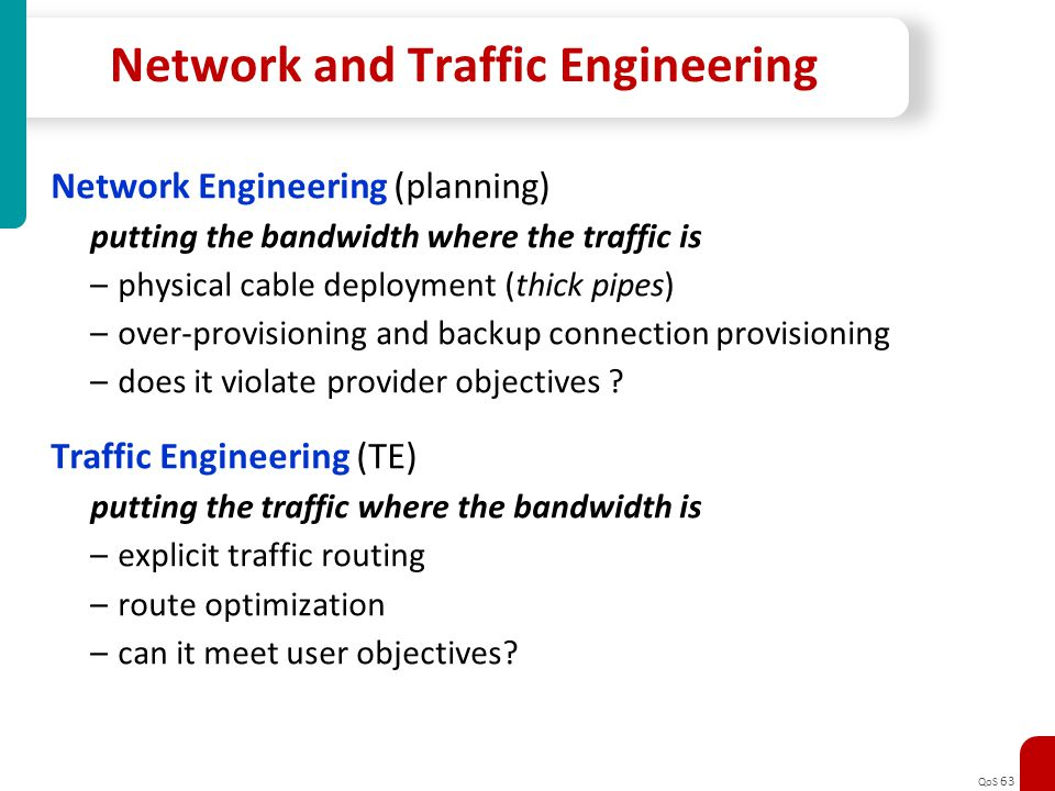 Network and Traffic Engineering