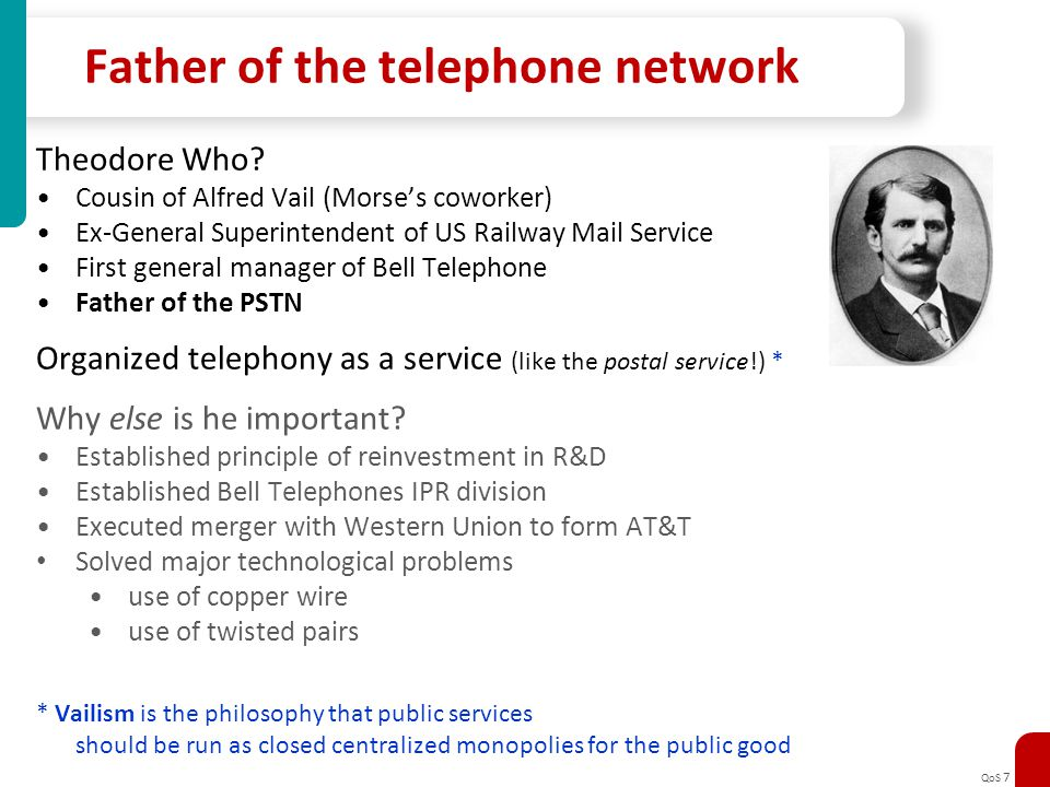 Father of the telephone network