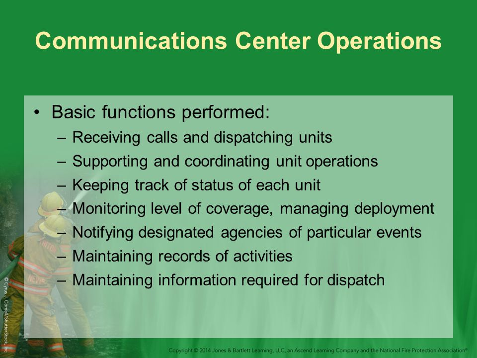 Communications Center Operations
