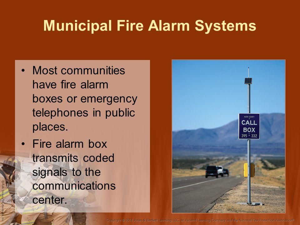 Municipal Fire Alarm Systems