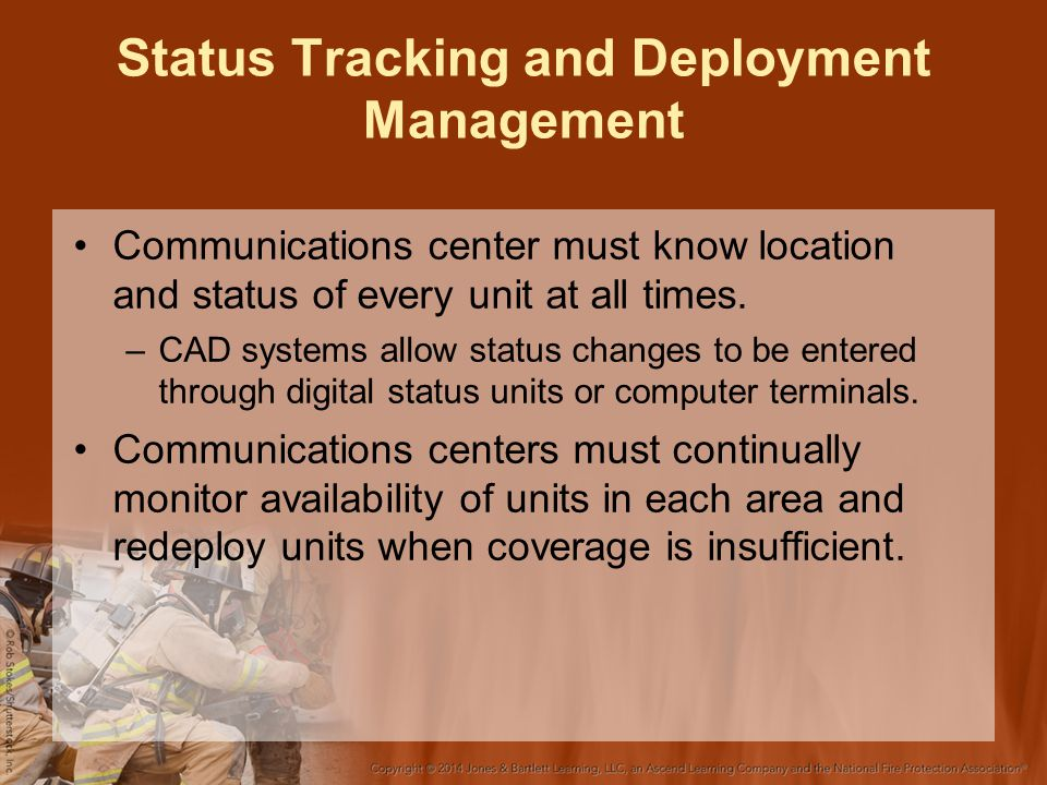 Status Tracking and Deployment Management