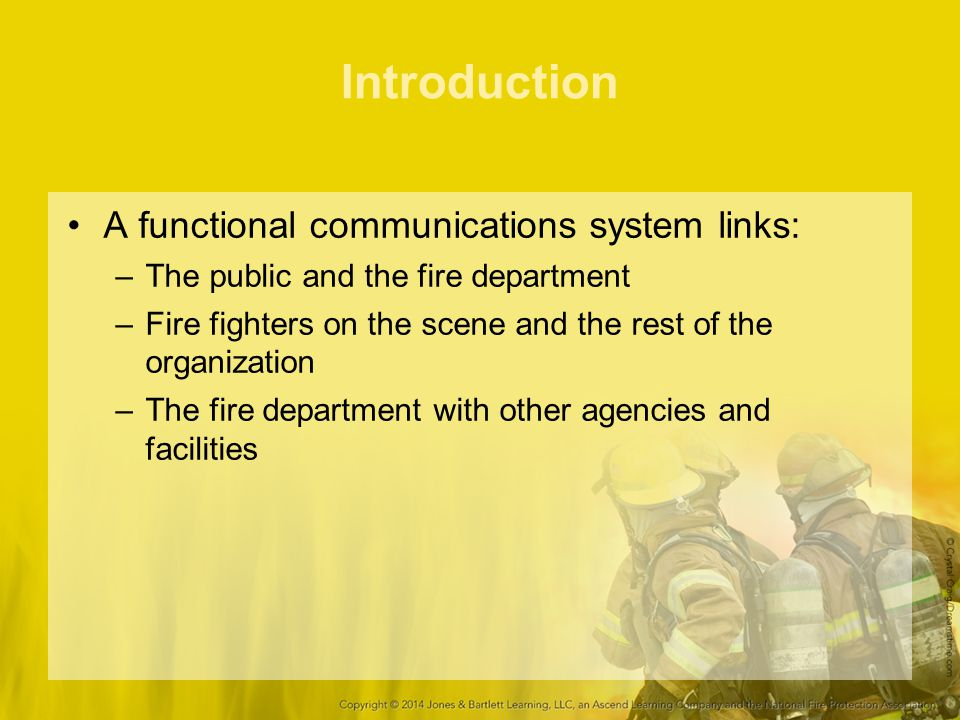 Introduction A functional communications system links: