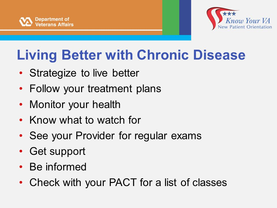 Living Better with Chronic Disease