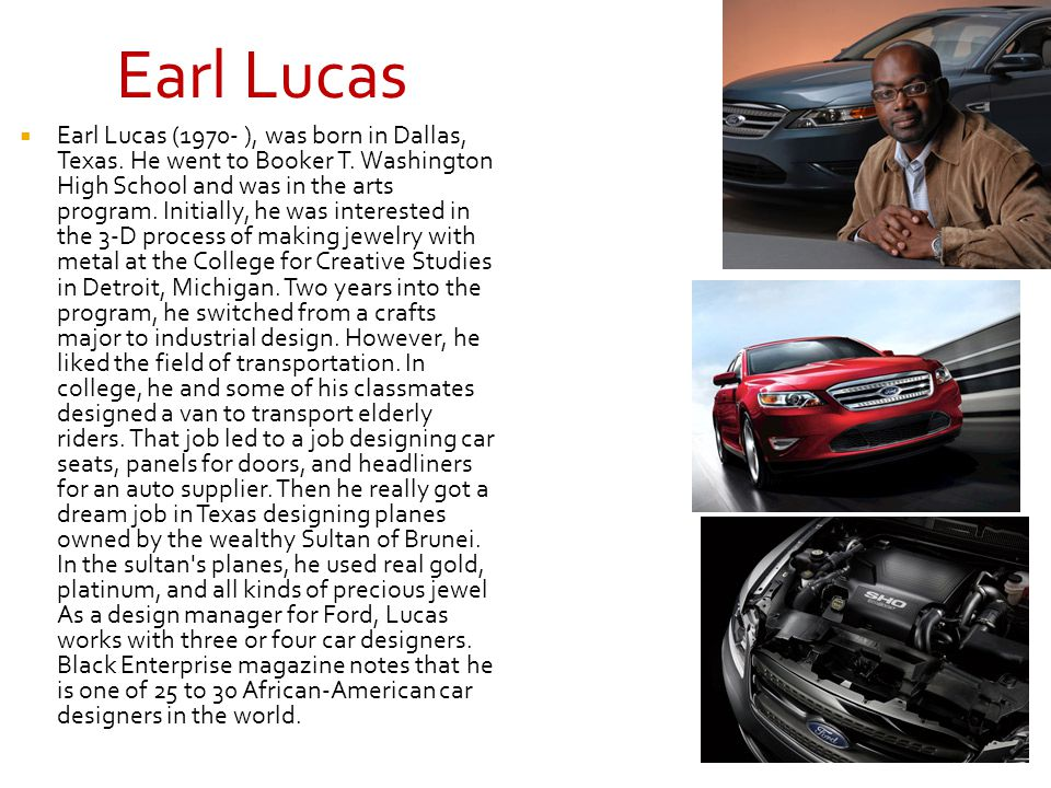 Earl Lucas
