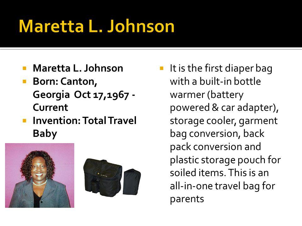 Maretta L. Johnson Maretta L. Johnson