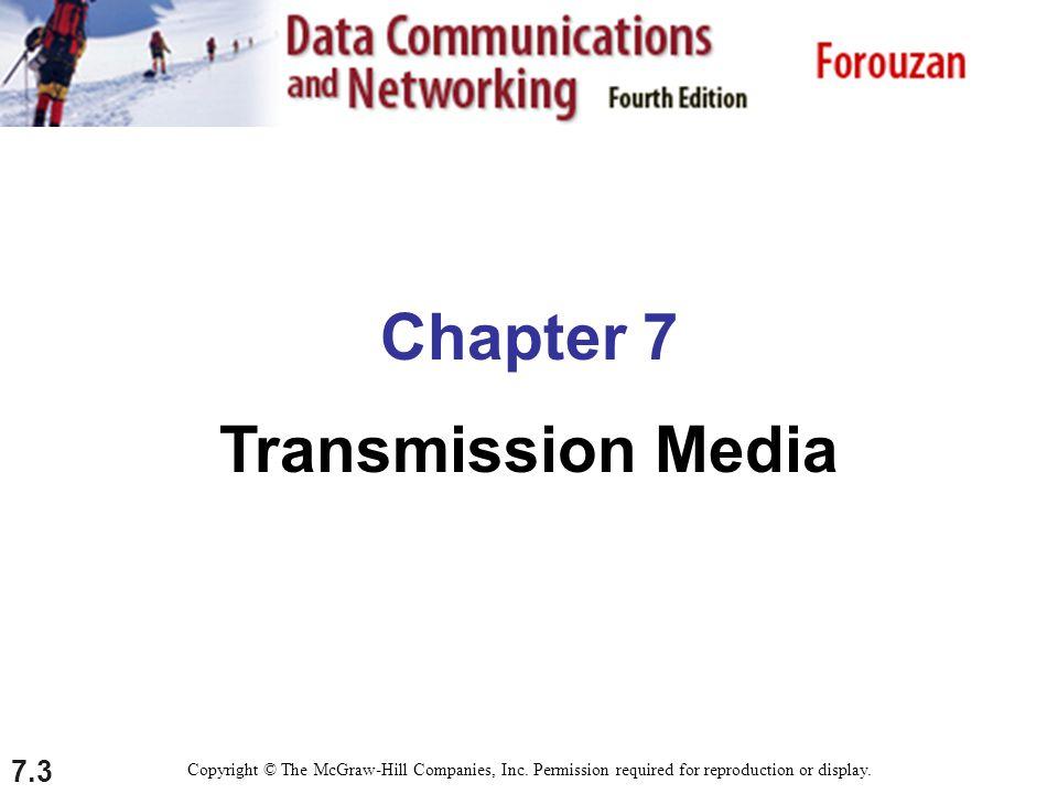 Chapter 7 Transmission Media