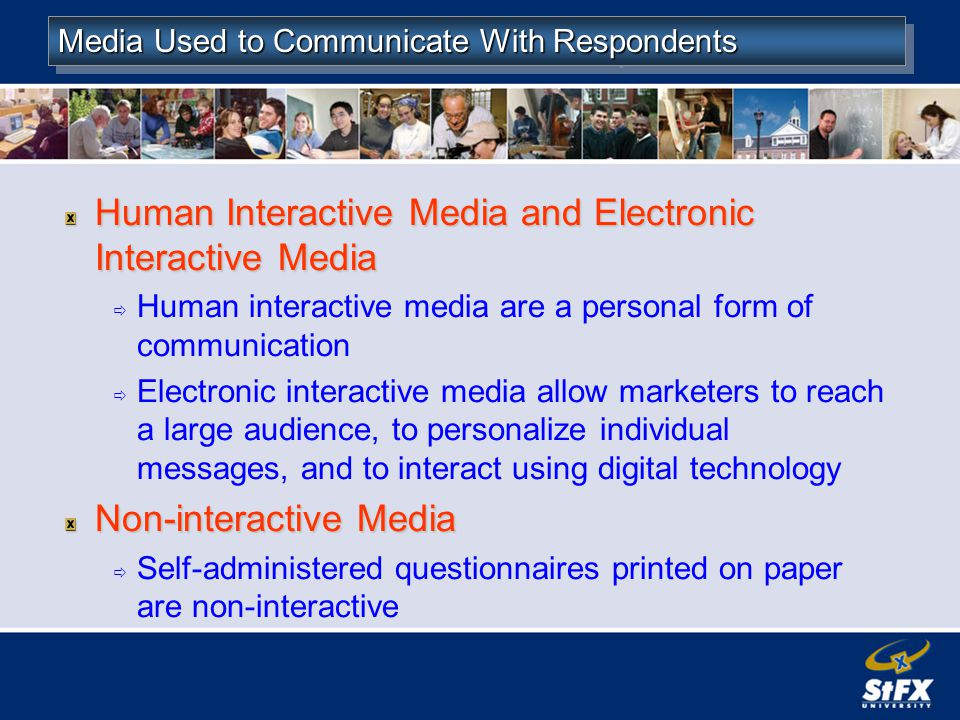 Human Interactive Media and Electronic Interactive Media