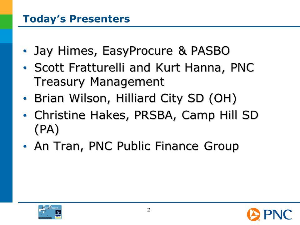 Jay Himes, EasyProcure & PASBO