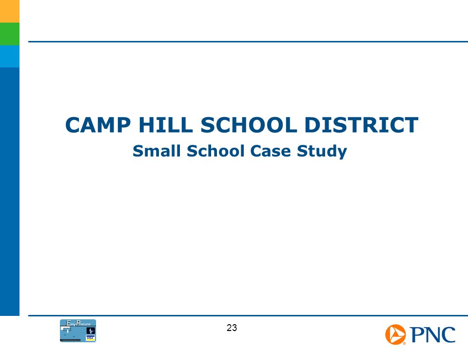 Camp Hill School District Small School Case Study