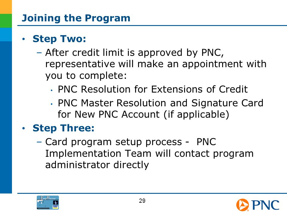 PNC Resolution for Extensions of Credit