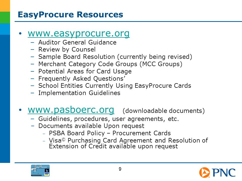 EasyProcure Resources