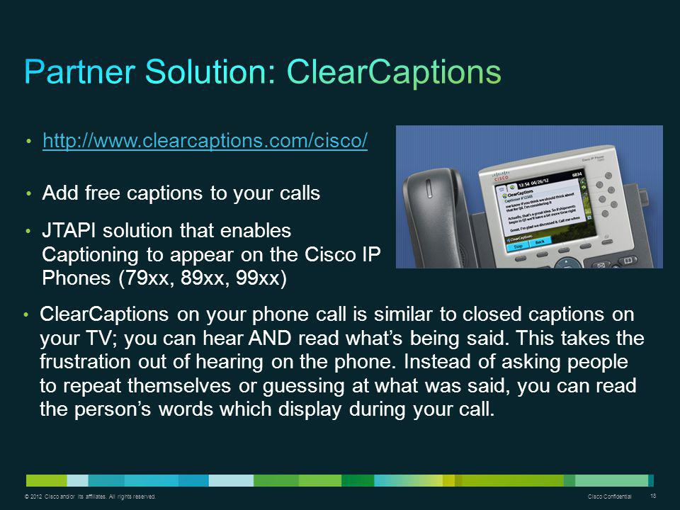 Partner Solution: ClearCaptions