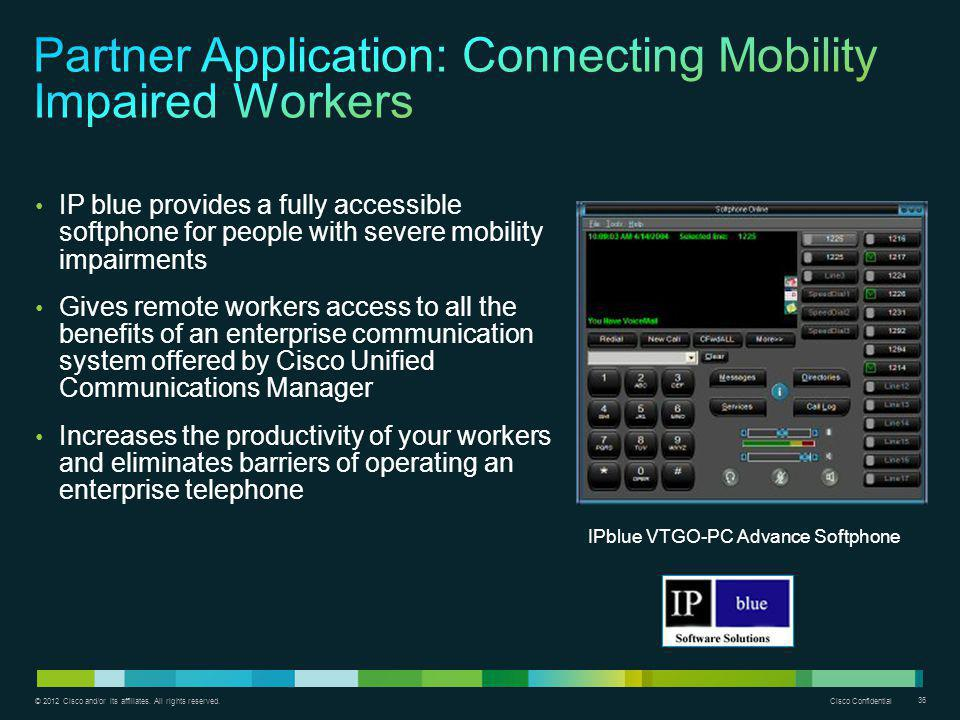 Partner Application: Connecting Mobility Impaired Workers