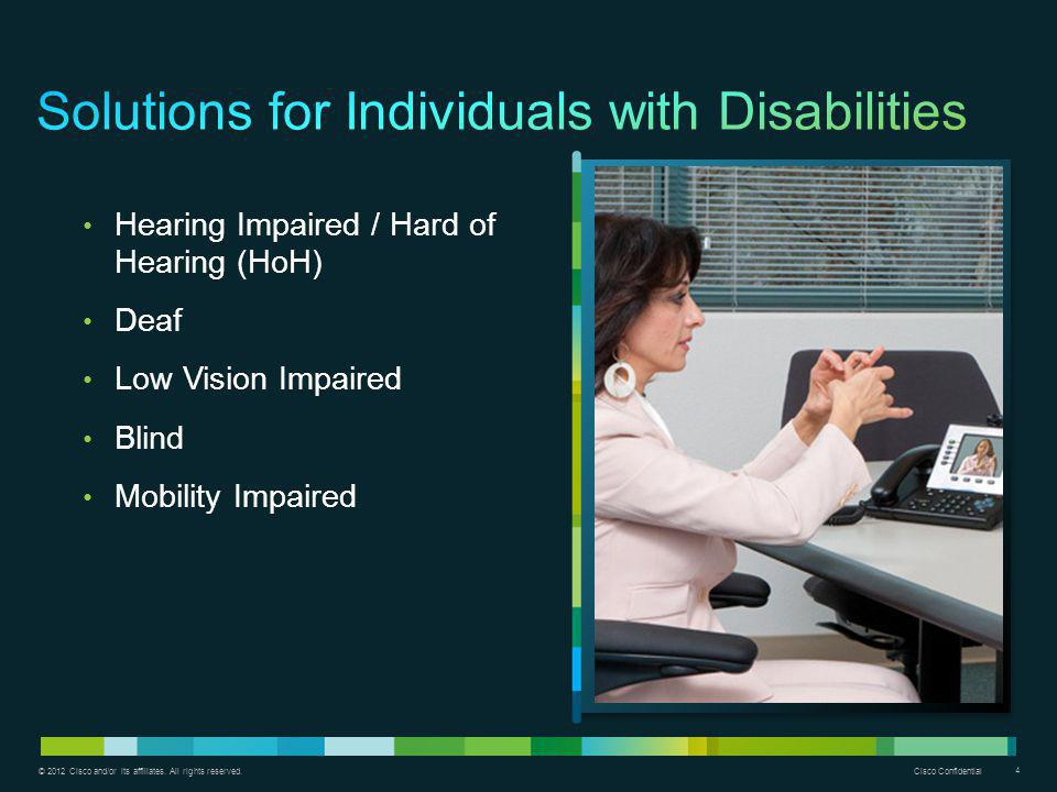 Solutions for Individuals with Disabilities