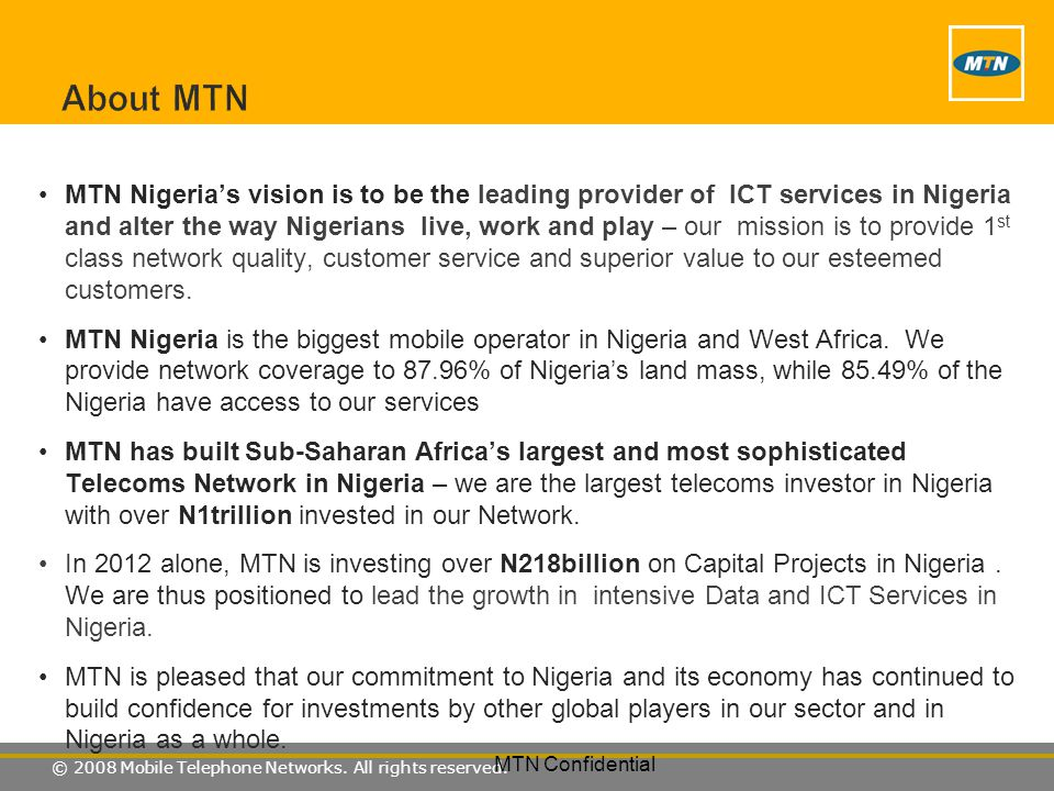 About MTN