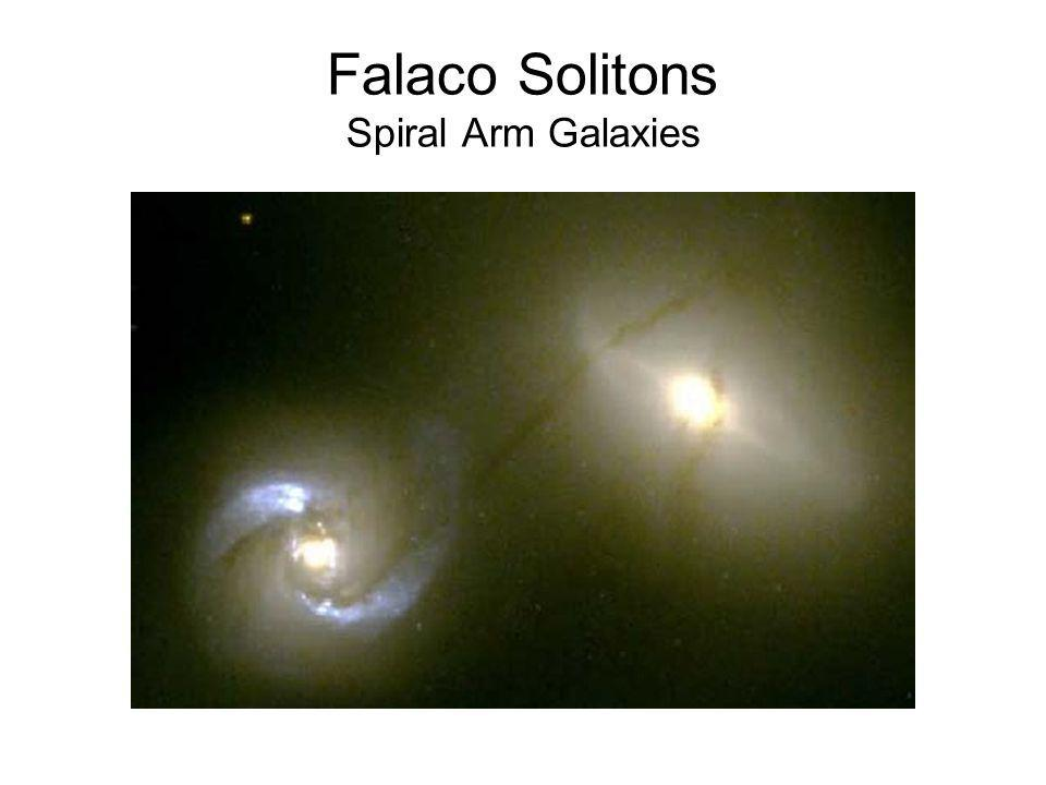 Falaco Solitons Spiral Arm Galaxies