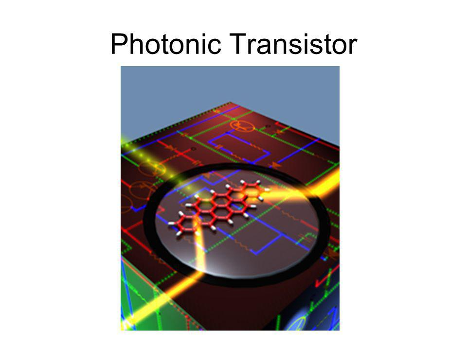 Photonic Transistor