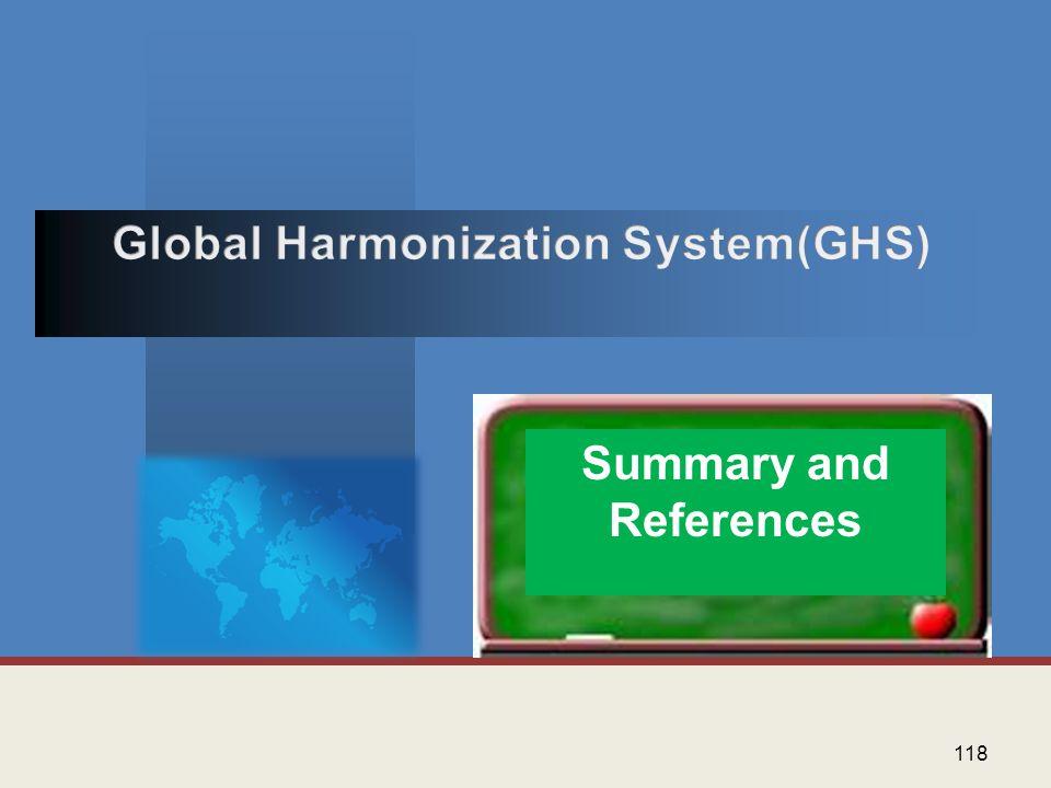 Global Harmonization System(GHS)