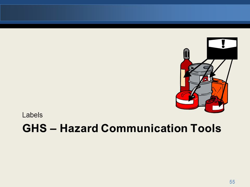 GHS – Hazard Communication Tools