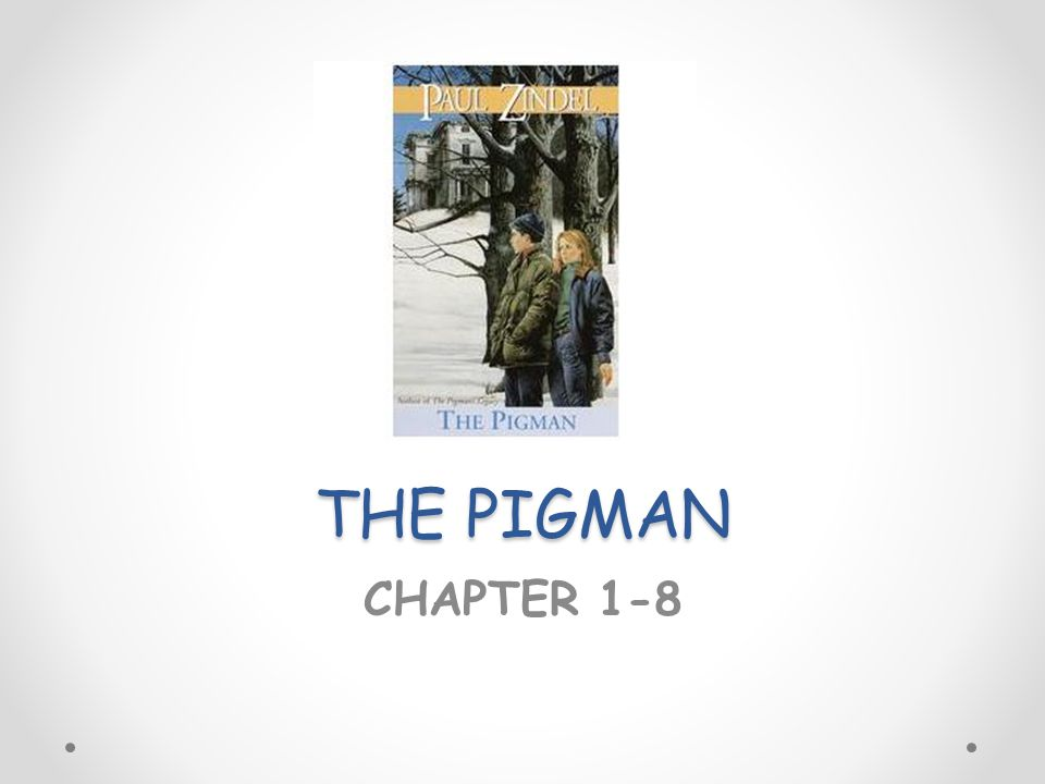 essay on the pigman Struggling with paul zindel's the pigman check out our thorough summary and analysis of this literary masterpiece.