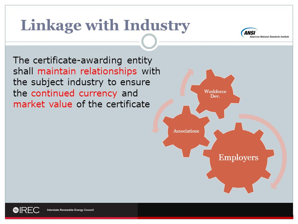 Linkage with Industry