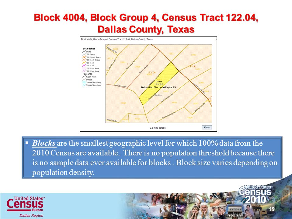 Block 4004, Block Group 4, Census Tract 122.04,