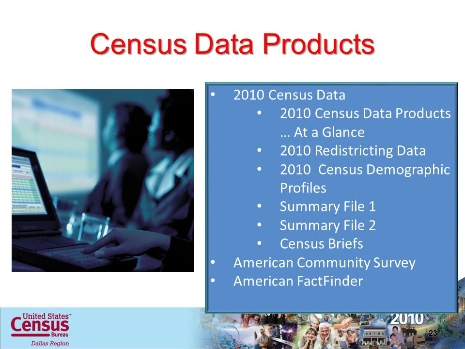 Census Data Products 2010 Census Data