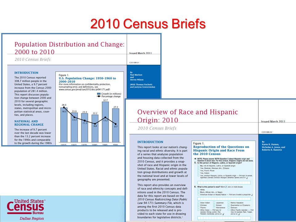 2010 Census Briefs