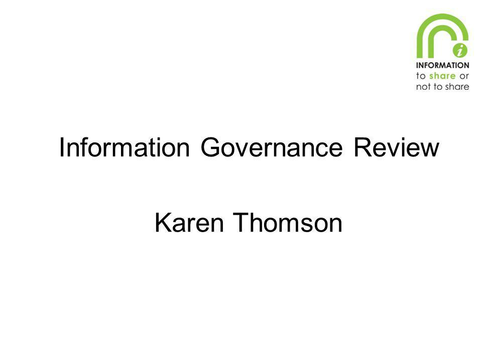 Information Governance Review