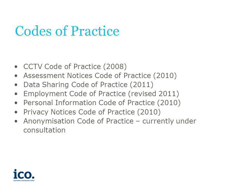Codes of Practice CCTV Code of Practice (2008)