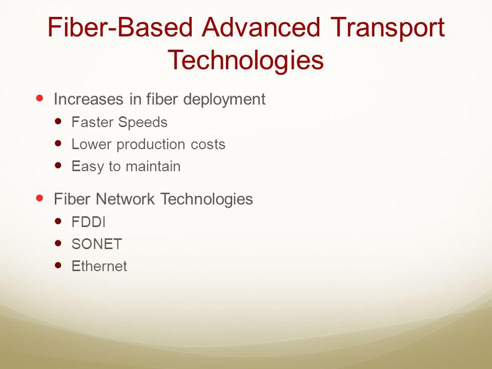 Fiber-Based Advanced Transport Technologies