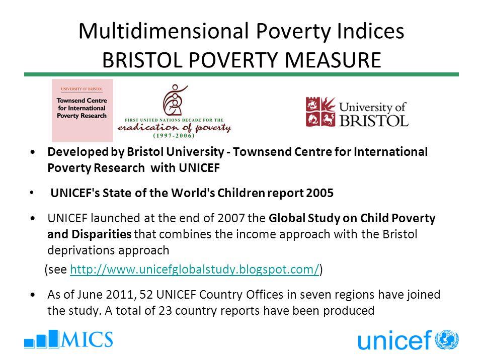 Multidimensional Poverty Indices BRISTOL POVERTY MEASURE