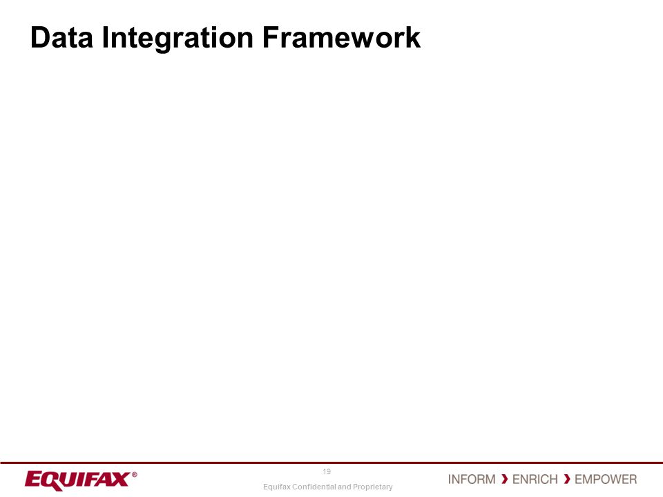 Data Integration Framework
