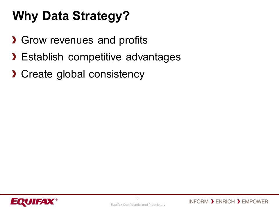 Why Data Strategy Grow revenues and profits