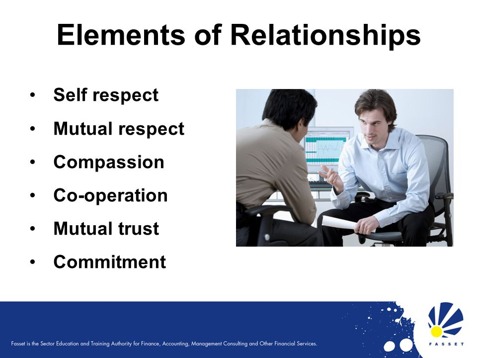 Elements of Relationships