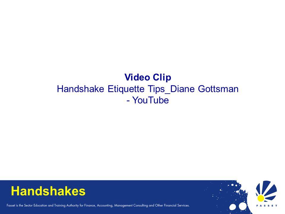 Handshake Etiquette Tips_Diane Gottsman - YouTube