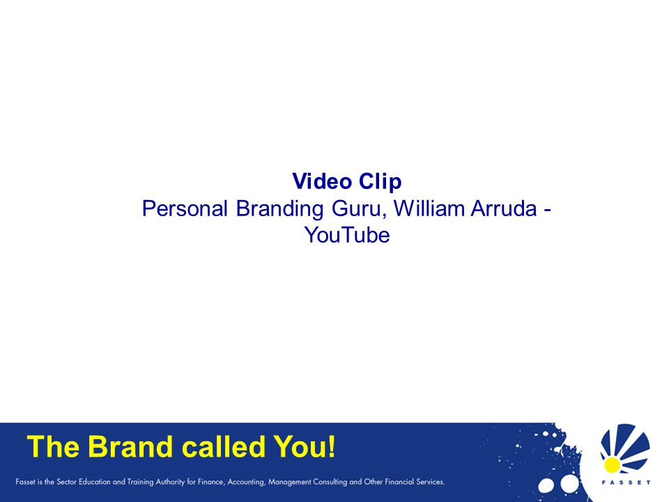 Personal Branding Guru, William Arruda - YouTube
