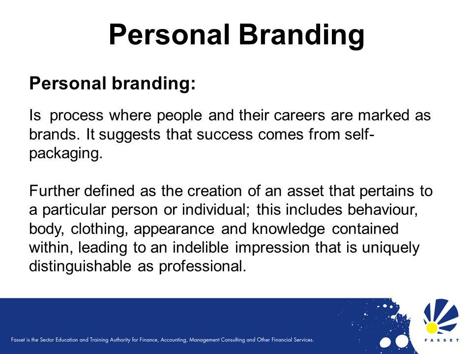 Personal Branding Personal branding: