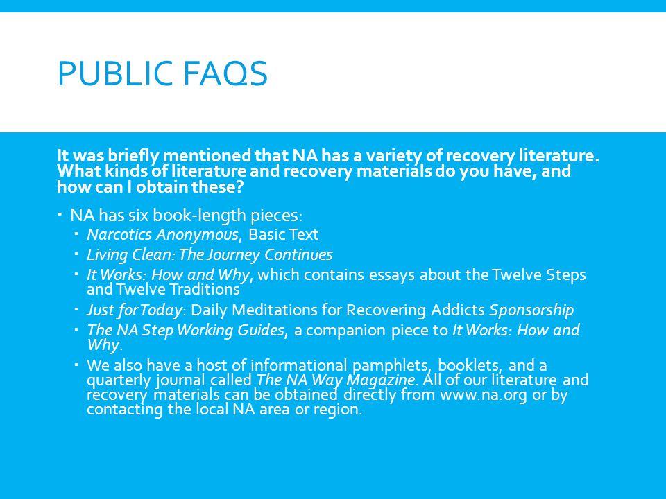Public FAQs