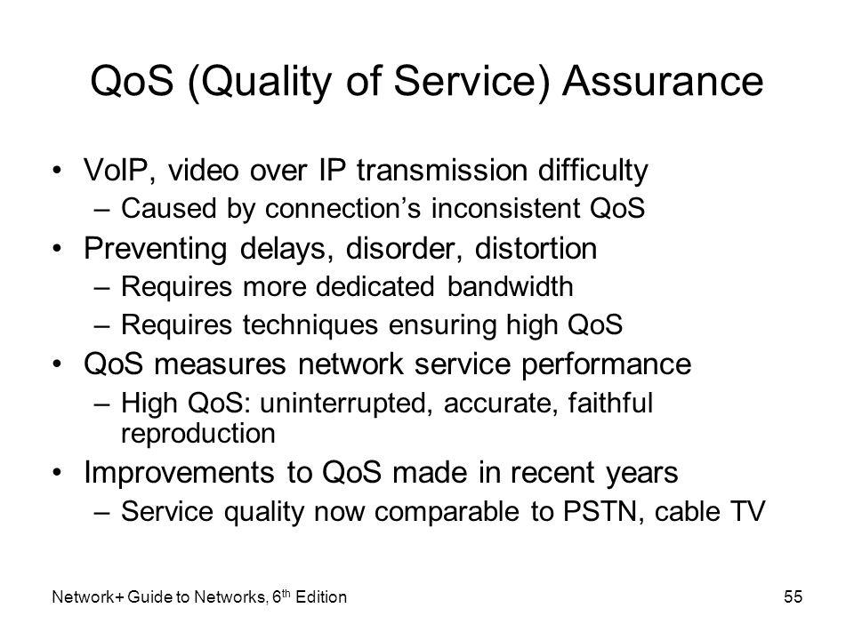 QoS (Quality of Service) Assurance