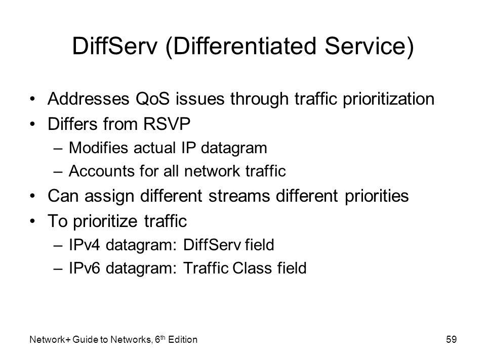 DiffServ (Differentiated Service)