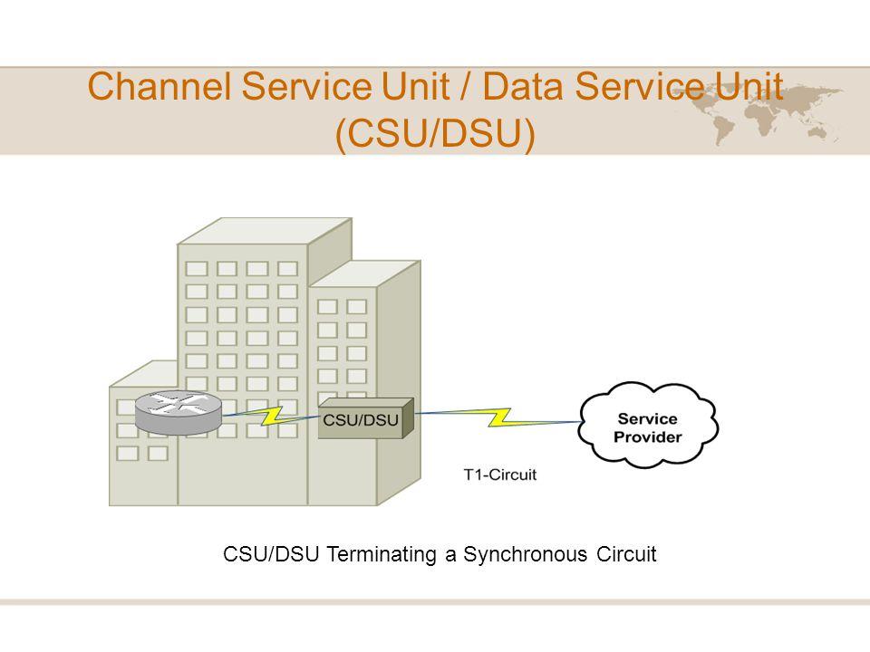 Channel Service Unit / Data Service Unit (CSU/DSU)