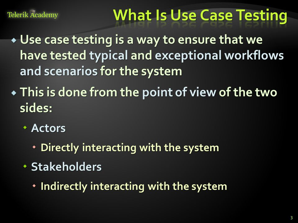 What Is Use Case Testing