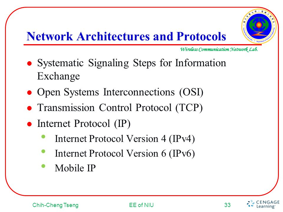 Network Architectures and Protocols