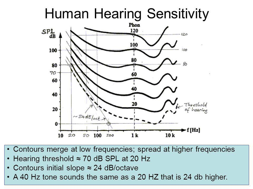 Human Hearing Sensitivity