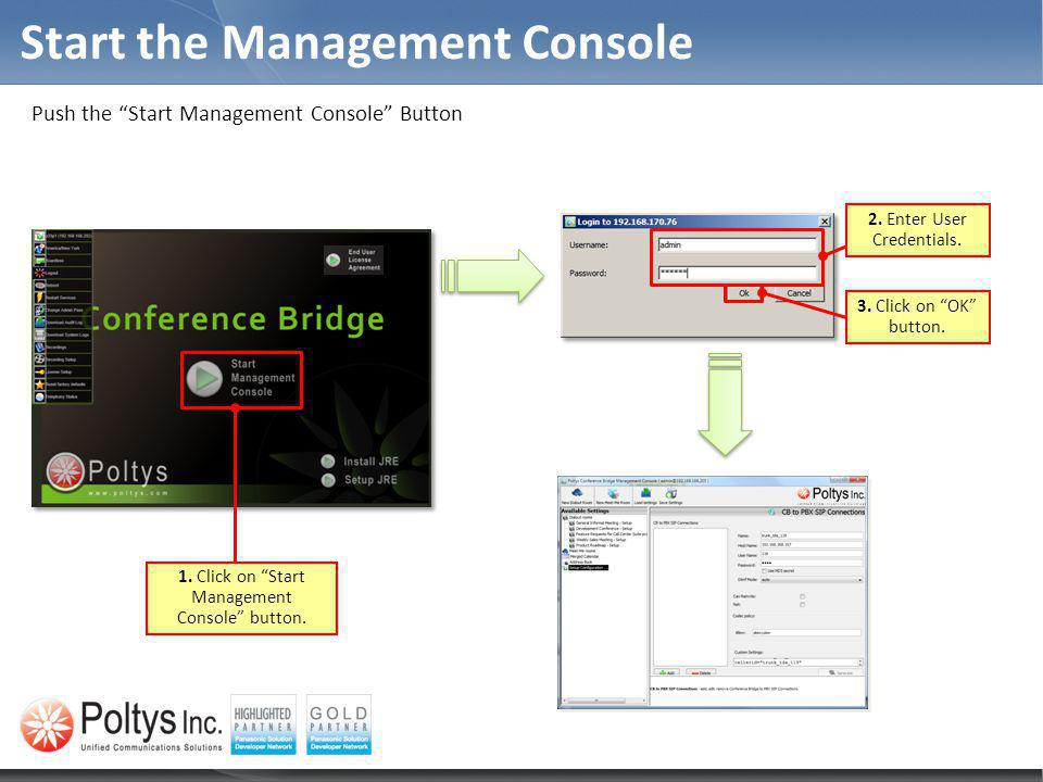 Start the Management Console