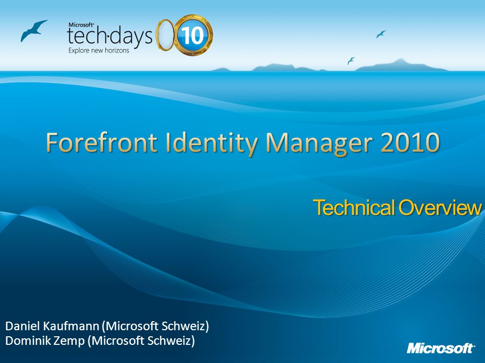Forefront Identity Manager 2010